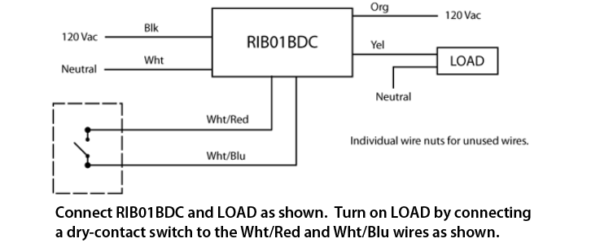 Rib Relay Wiring Diagram