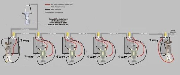 Five Way Switch Wiring Diagram
