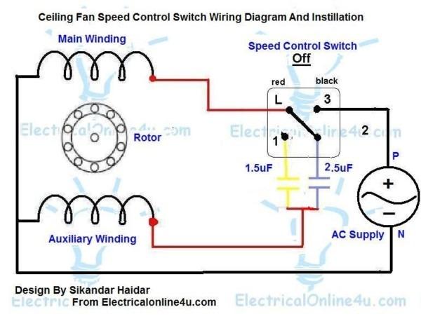 Floor Fan Wiring Diagram