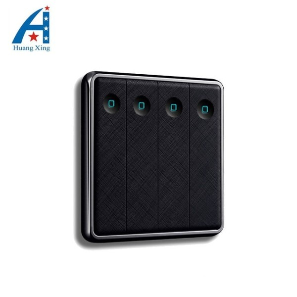 Free Shipping New Style Electric Light Switch, 4 Gang 2 Way Uk