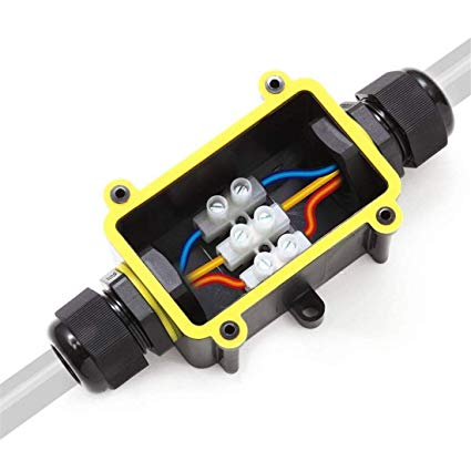 Fx Junction Box Waterproof Ip68 2 Way Plug Line M20 Coaxial Cable