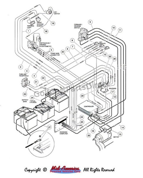 G19e Yamaha 48v Wiring Schematic