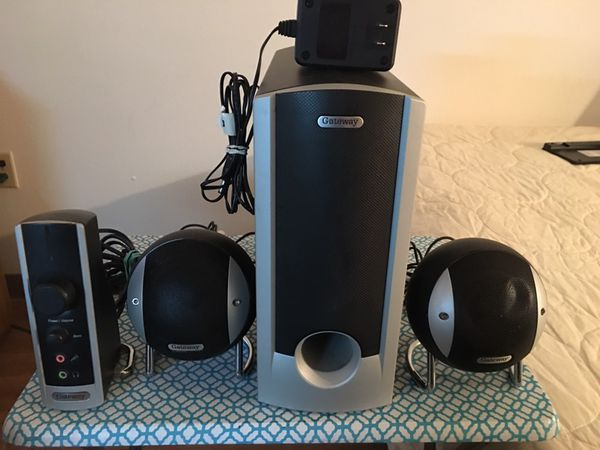 Gateway Gmax 2100 Computer Speakers For Sale In Sacramento, Ca