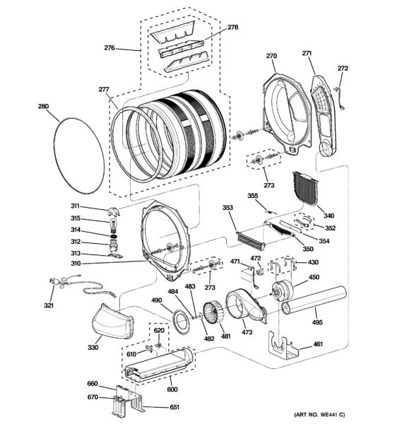 Ge Dryer Electrical Diagram