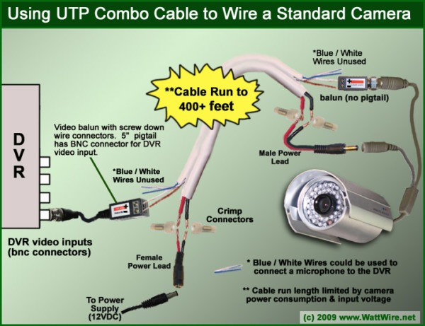 Ge Security Camera Wiring Diagram