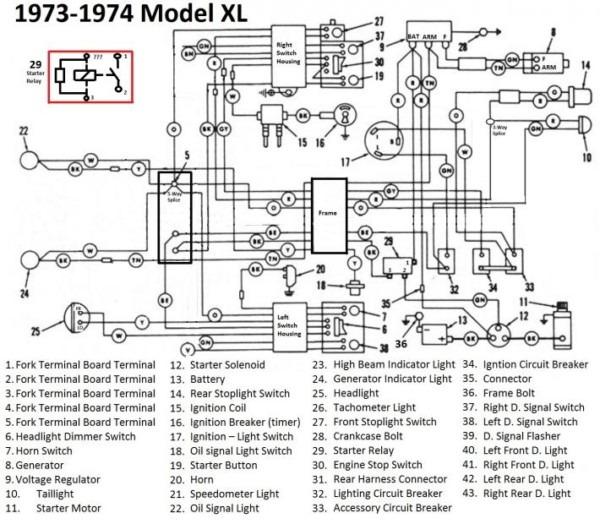 Generator Voltage Regulator Wiring Diagram Harley
