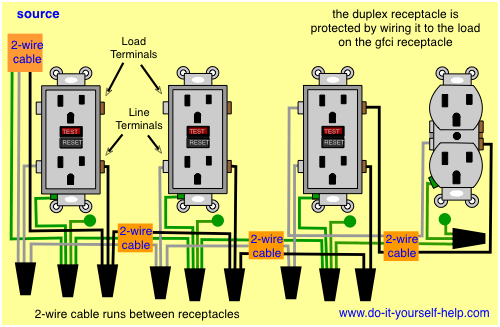 How To Wire 2 Electrical Outlets Together