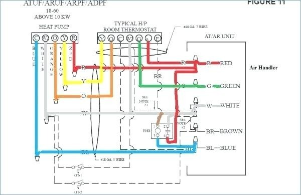 Goodman Heat Pump Wiring Thermostat Diagram Defrost Control All