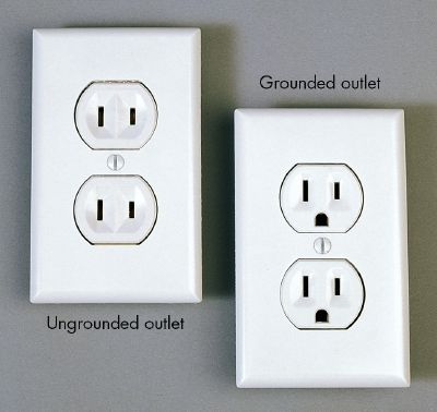 Grounded Vs Ungrounded Plugs