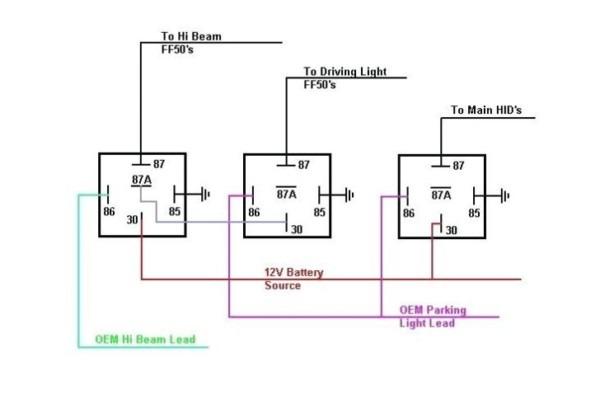 H1c Rib Relay Wire Diagram