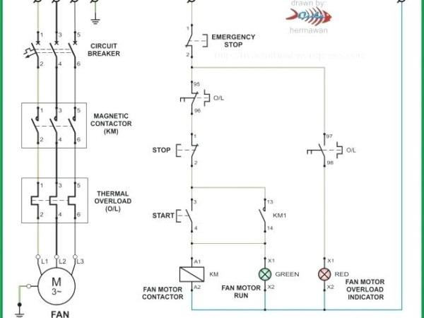 Hand Off Auto Motor Starter Wiring Diagram