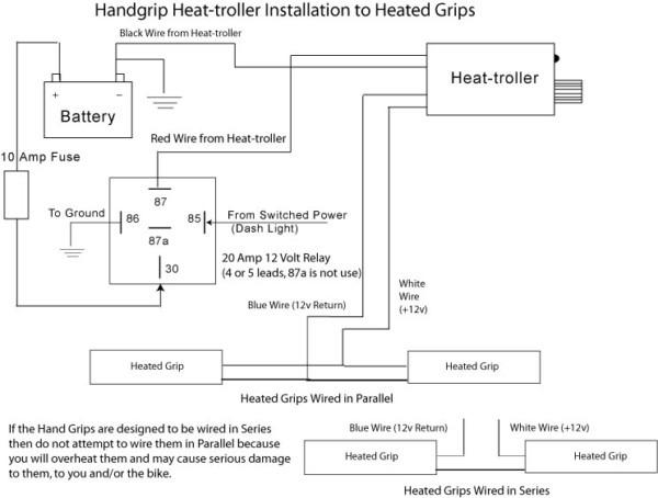 Harley Heated Grips Wiring Diagram