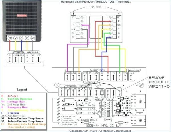 Heat Pump Wiring Diagram Schematic