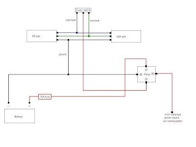 harley davidson heated grips wiring diagram - cikeri  cikeri