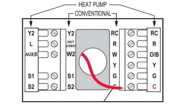 Honeywell Thermostat Wiring Instructions