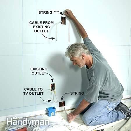 How To Add An Electrical Outlet From An Existing Outlet Adding An