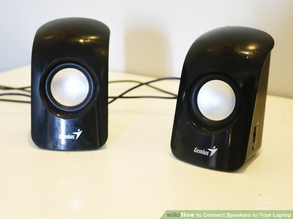 Computer Speaker Hookup Diagram