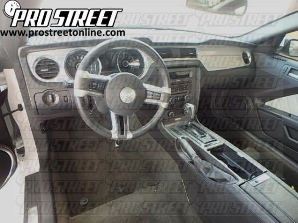 How To Ford Mustang Stereo Wiring Diagram