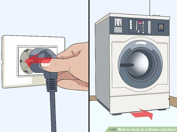 How To Hook Up A Washer And Dryer (with Pictures)