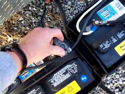 How To Hook Up Two Batteries On A Travel Trailer