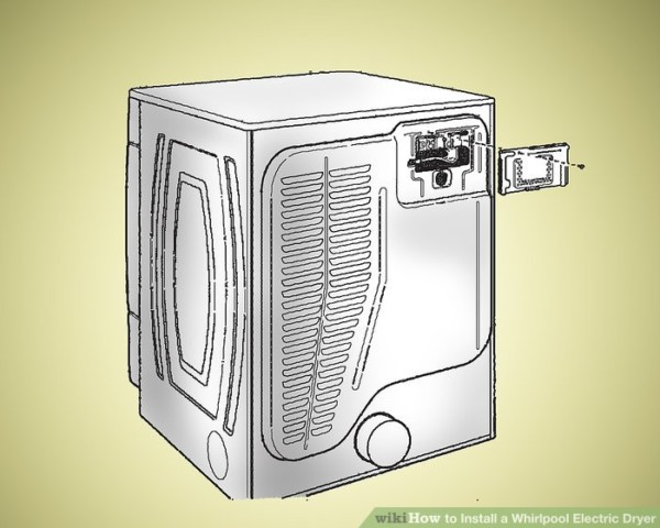 How To Install A Whirlpool Electric Dryer (with Pictures)