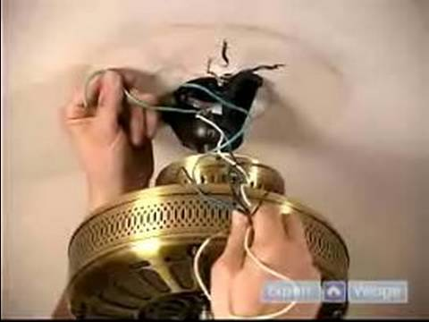 How To Install Ceiling Fans   How To Hang The Fan & Attach The
