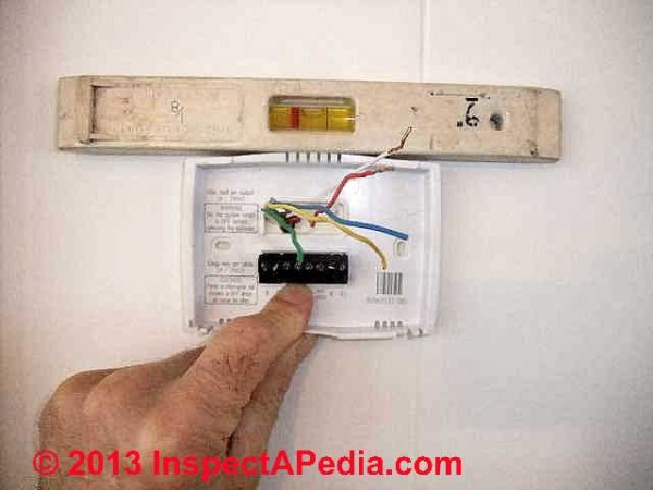 How To Install Or Replace A Room Thermostat,