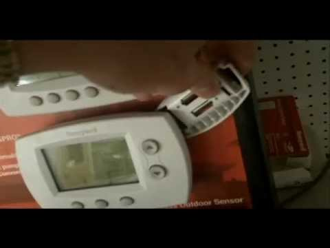 How To Replace The Honeywell Focuspro Thermostat Battery