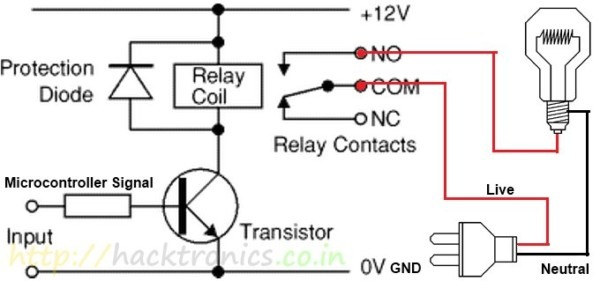How To Use Relay Modules To Control Ac Devices