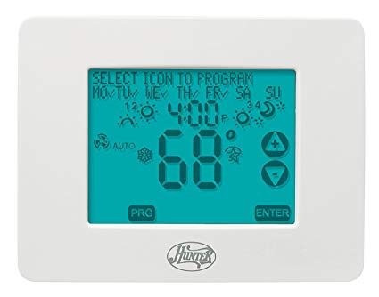 Hunter 44860 Universal 2h 2c Touchscreen Thermostat