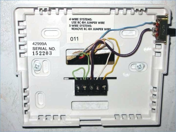 hunter thermostat wiring instructions Hunter Thermostat Troubleshooting