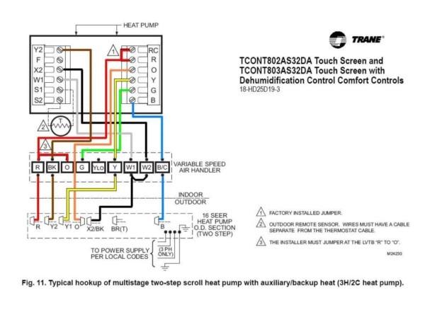 Hvac Heat Pump Thermostat Wiring