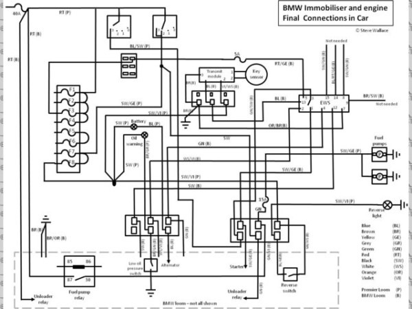 Image  Final Bmw Wiring Connections Jpg At Locostbuilders