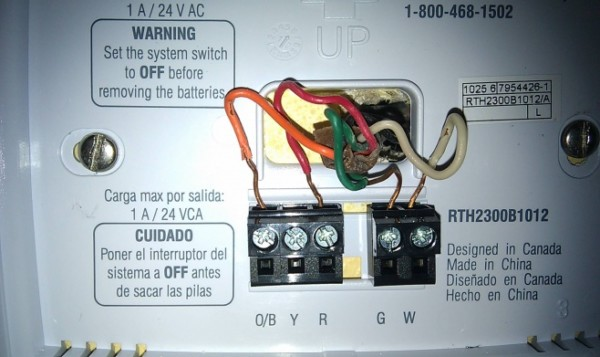 Installing A New Thermostat Honeywell