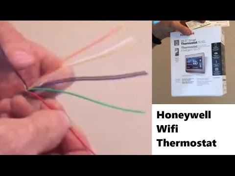 Installing Common Wire For Wifi Thermostat