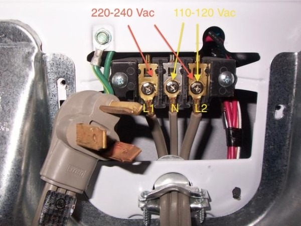 Maytag Dryer Power Cord Wiring Diagram