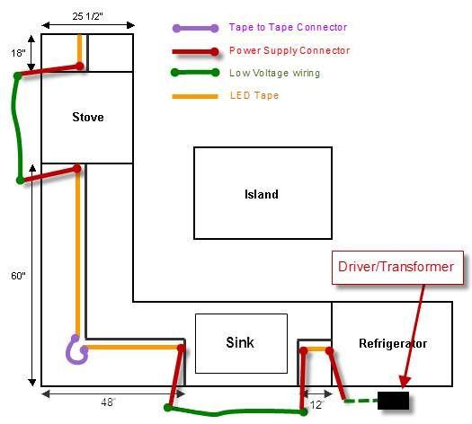 Kitchen Lighting Wiring Diagrams