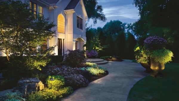 Dim Landscape Lighting