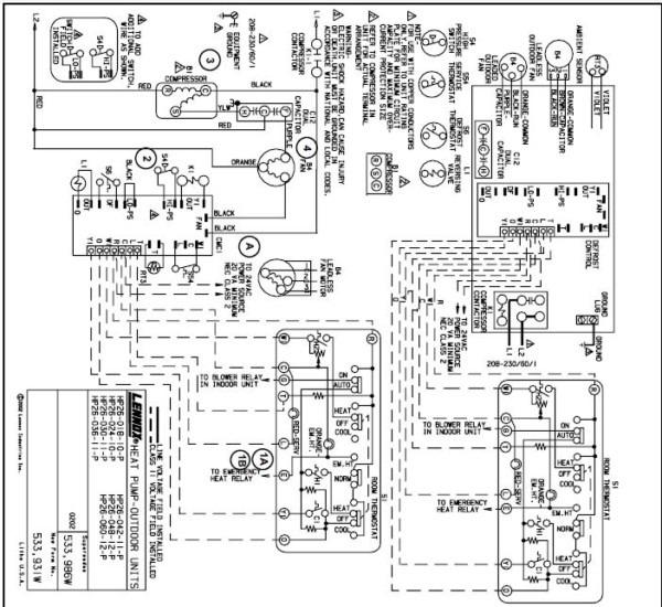 Lennox Hp26 Wiring Diagram