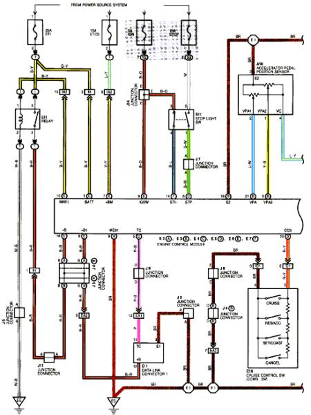 Lexus V8 Engine Wiring Diagram