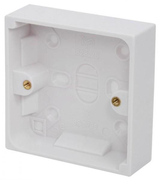 Mercury 429 923 Electrical Socket Back Box Surface Mount 25mm