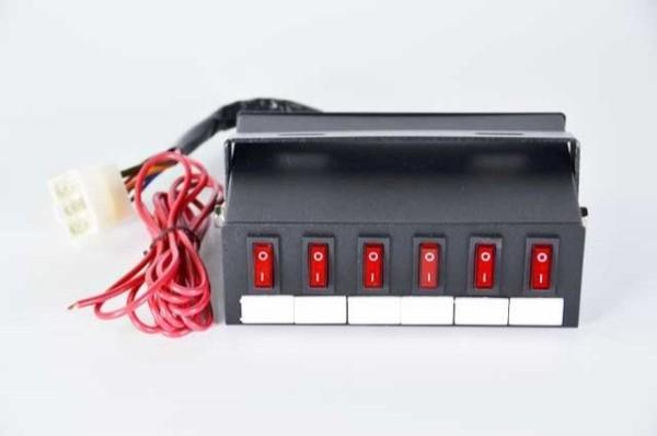 Mini Mega Power Switch Box For Emergency Vehicle Lighting
