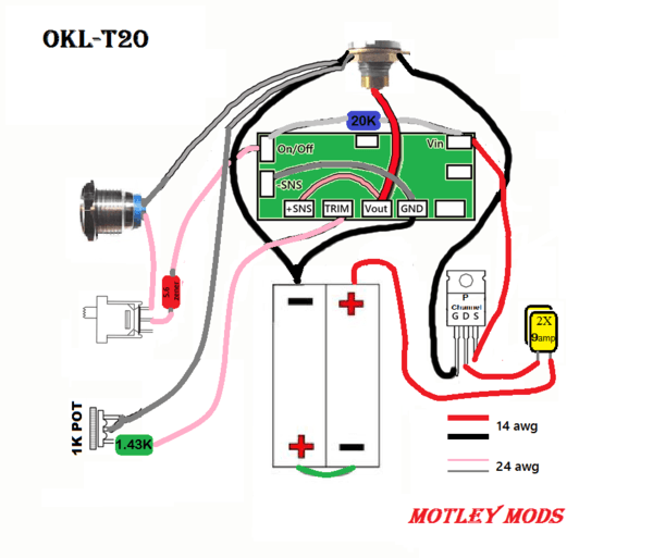 Motley Mods Box Mod Wiring Diagrams,led Button,switch Parallel
