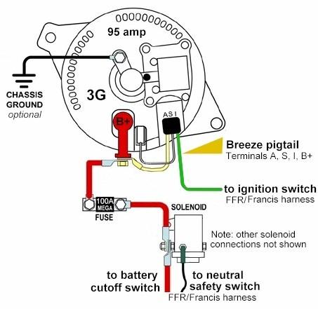 Nissan Alternator Wiring