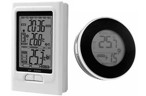 Noma Programmable Thermostat With Wireless Temperature Monitor