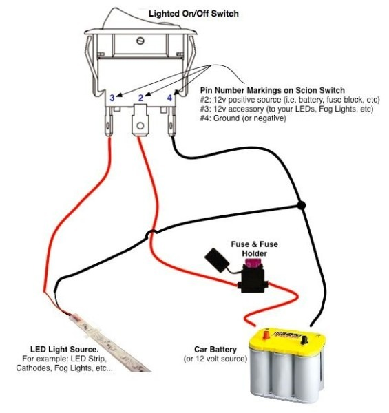 On Off Switch Wiring