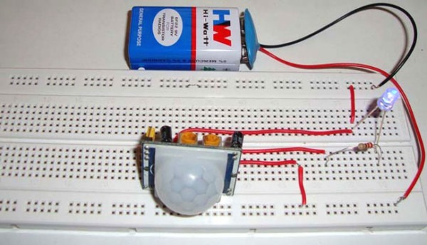 How To Wire Pir Sensor Diagrams