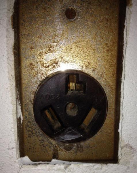 220v Dryer Receptacle