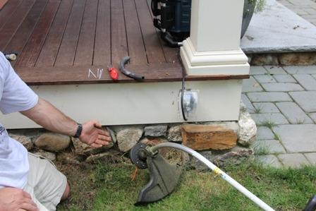 Protect Low Voltage Landscape Lighting Wires