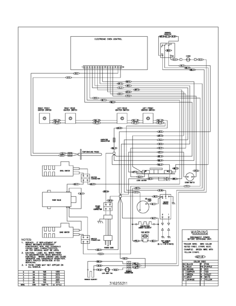 Range Wire Diagram
